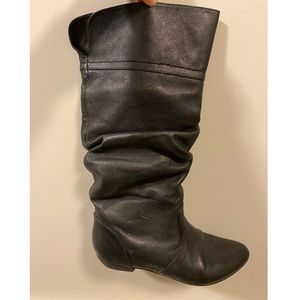Steve Madden Leather Mid Calf Boots